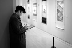 L'homme du musée