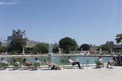 Paris - Le jardin des tuileries