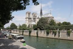 Paris - Notre dame et la Seine